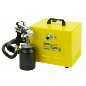Apollo Pro-Spray System 1500 HVLP 240 Volts Turbine Paint Sprayer 6M Hose