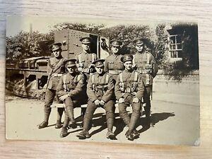 Postcard soldier portrait Lancashire Fusiliers