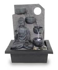 Fuente de mesa fuente de interior FoBuddha Ancient Black muy grande LED 10871