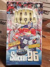 1995-96 Imperial Super Sticker 96 Hockey Box Sealed