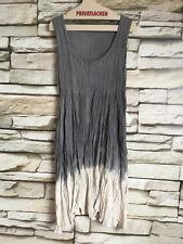 cocon.commerz PRIVATSACHEN BERGUT Kleid aus ECOKATTUN in grau/natur Größe 2