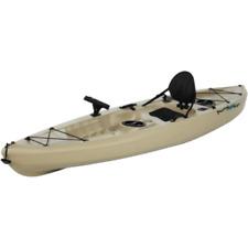 Lifetime, 10', 1-Man Muskie Angler Kayak, Tan, with Bonus Paddle