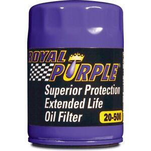 "Royal Purple 20-500 Oil Filter Ford/GM/Jeep/Lincoln/Mazda/Mopar -22 mm x1.5"""