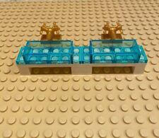 LEGO Medium Blue Half Pirate Castle Barrel Piece