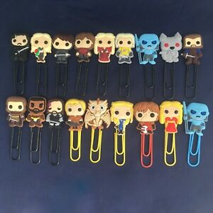 A Game of Thrones - Bobblehead Bookmark Paperclip - Tyrion Arya Cersei Drogo NEW
