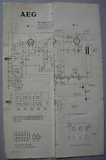 AEG Radio Bimbinette 62 Schaltplan