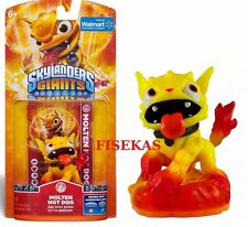 Skylanders Giants MOLTEN HOT DOG Figure Walmart Card Sticker Web Code 2012 NEW