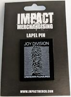 Authentic LIMITED EDITION Joy Division Unknown Pleasure Enamel Lapel Pin 1.25""