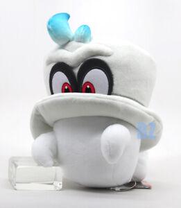 "GENUINE Super Mario Odyssey Cappy Normal Form Plush 7.5"" Little Buddy 1658"