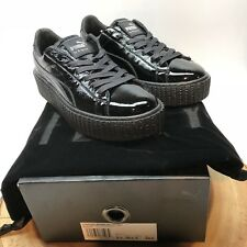 Puma Creeper Cracked Leather Puma X Fenty Rihanna 364465 01 Size 8 Wmns 6.5 Mens