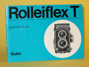 Original(!) Rollei Instruction Manual for Rolleiflex T - in English!