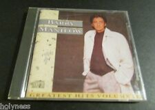 BARRY MANILOW / GREATEST HITS / VOL 2 / CD / MINT / LIKE NEW