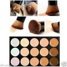 15 colores de maquillaje cepillo del maquillaje Corrector Contorno   Paleta HOT