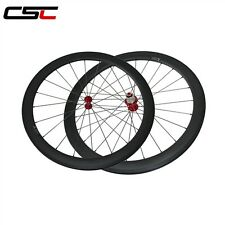 CSC Only 1540g , 25mm width 50mm Clincher carbon road bike wheels carbon wheels