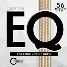 Cleartone 7813 EQ Acoustic Hybrid Metal Medium (13-56) Guitar Strings