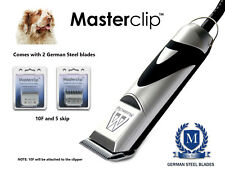 Masterclip Clumber Spaniel Cane Professionale Clippers Trimmer Set con 2 LAME