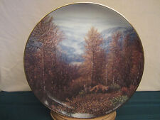 FOX collector plate GREAT SMOKY MOUNTAINS Harry Johnson AMERICA THE BEAUTIFUL
