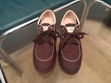 HOGAN Sneaker Pumps Loafers Damenschuhe Gr.37 (NP320)Braun Textil Wie Neu Karton