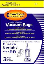 Eureka Upright Vacuum Cleaner Micro Filter Type Rr Bags 3 Pk Generic Part # 164