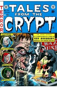 Tales from the Crypt 34 COLOR PRINT Jack Davis Frankenstein, Jack the Ripper Art