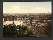 La place du conseil impérial côté Ouest St Petersbourg A4 papier photo