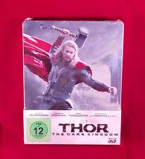 Thor The Dark World Kingdom 3D / 2D Blu-Ray limited Steelbook,Region Free