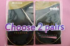 "2 pairs 30cm 12"" ADDI Premium Circular Knitting Needle"