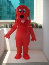 New Professional Red Clifford Dog Mascot Costume Adult Size EPE