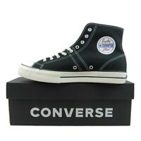 Converse Lucky Star HI Top Canvas Sneakers Black White NEW 163321C Multi Size