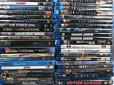 Lot Of Over 250 Blu Ray Movies FOR SALE - $5 - $7 Each.  FLAT RATE SHIPPING!!!