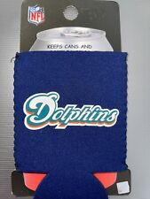 Miami Dolphins Can Coozie Coolie Koozie Bottle New Holder Nfl Nwt Nip Koolie