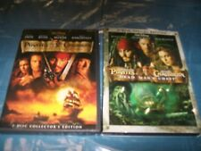 Pirate's Of The Caribbean 2 Disc The Curse Of The Black Pearl And Dead Man's Che