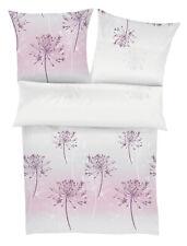 Ibena Zeitgeist Baumwoll-Satin Bettwäsche Almelo rosa-grau 100% Baumwolle