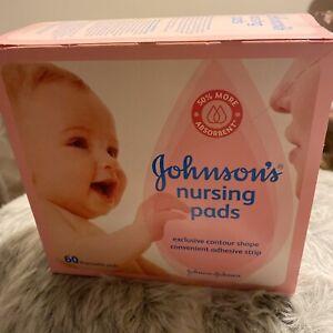 Johnson's nursing pads 60 disposable pads