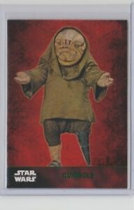 Star Wars The Force Awakens Series 1 Trading Card Green QUIGGOLD #37