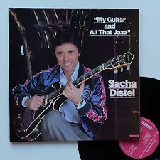 """Vinyle 33T Sacha Distel  """"My guitar and all that jazz"""""""