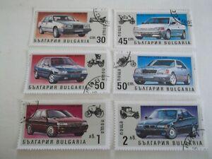 1992 Bulgaria Motor Cars used Mi.3982/87. G17
