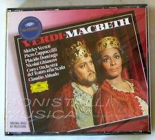 MACBETH - VERRETT, CAPPUCCILLLI, DOMINGO - ABBADO - 2 CD Sigillato