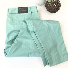 JCREW NWT Womens 4 Teal Blue City Fit Ankle Skimmer Flat Front Career Pants A3
