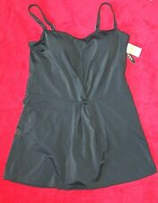 Jantzen Black Swimdress size 14 retail $110