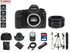 MINT Canon EOS 5D Mark II 21.1MP Digital SLR Camera with 50mm STM LENS + Tripod
