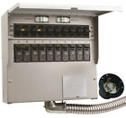NEW Reliance R510A Pro/Tran2 50-Amp 120/240V 10-Circuit Outdoor Transfer SWITCH