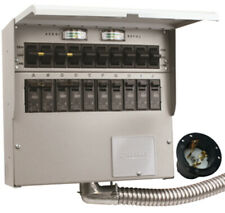 New Reliance R510a Protran2 50 Amp 120240v 10 Circuit Outdoor Transfer Switch