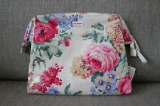 NEW! Authentic Cath Kidston Frame Wash Pouch Bag Floral Bloomsbury (LONDON)