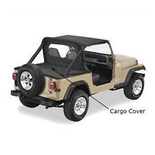 Pavement Ends Cargo Cover Protection - Black Denim fits 87-91 Jeep Wrangler YJ