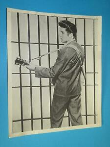 Elvis Presley - Jailhouse Rock Promo Press Photo, Foto - 24,2 x 19,9 cm