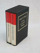 John Hazel WHO'S WHO IN THE CLASSICAL WORLD Roman Greek Routledge 2 Vol Box Set