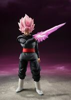 Dragon Ball Z Black Goku Gokou Super Saiyan Rose God Slide Action Figure Kids