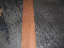Anegre Wood Veneer. 4.5 x 64, 15 Sheets.