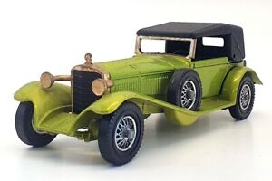 Matchbox Models Of Yesteryear Y-16 - 1928 Mercedes SS Coupe - Light Green